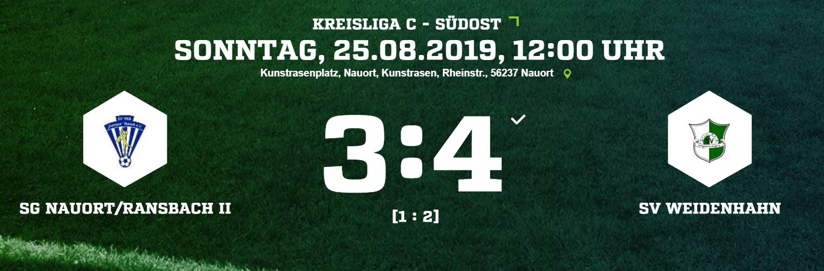 2. Spiel, 2. Sieg